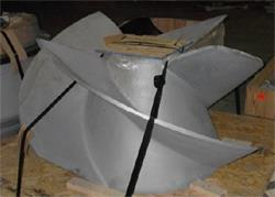 New Impeller in Upgraded Material
